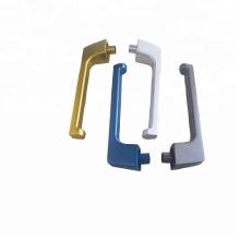 Aluminum Zinc Door Cabinet Drawer Handles Knobs