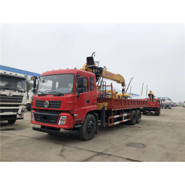 Dongfeng 240Hp 6x4 truck mounted 8 tons crane