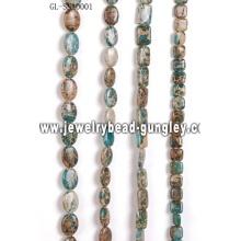 Bolas de piedra de piel de serpiente de piedra preciosa DIY