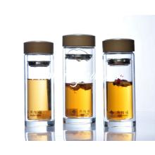 Double Wall Glass Tea Tumbler tea