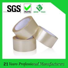 Fita de embalagem adesiva de baixo ruído para selagem de caixas