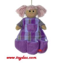 Хлопок Кукла Чехол Для Хранения Стене Висит
