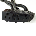 5-15P to 5-15R 4 Ways Agricultural Extension Cord