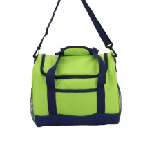 Durable 600D Cooler Bags Food Insulated Cooler Bags Portable Lunch Cooler Bag With Shoulder Strap