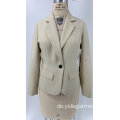 Damen Off White Business Casual Blazer