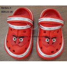 Venda quente moda sapatos de jardim eva para crianças (fbj521-5)