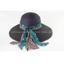 La señora vendedora caliente Straw Hat, verano se divierte la gorra de béisbol