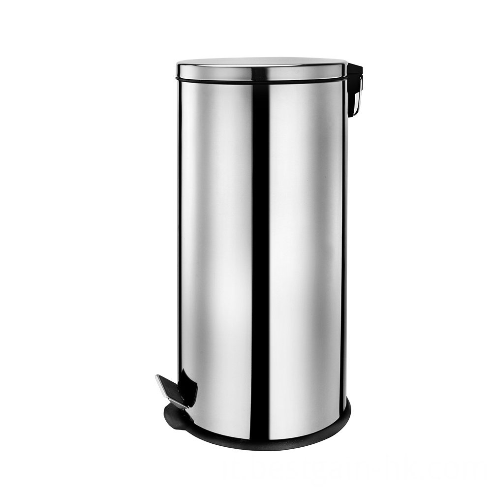 27L Stainless Steel Trash Can