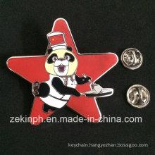 Lovely China Bear Enamel Metal Pin Badge Making Customized
