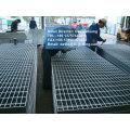 galvanized foot steel lattice,galvanized feet steel grating,galvanised feet grilles