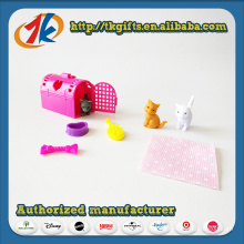 Funny Plastic Mini Animal Set Toy with Cheap Price