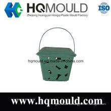 Moldeo por inyección de la cesta de plástico con alta calidad