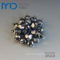 Shoe Flower Buckle with Diamonds