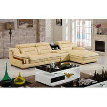 Modern Europe Genuine Leather Sofa (S3189)