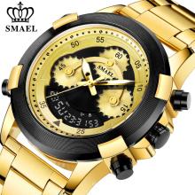 Цифровые часы SMAEL 8042 Мужские спортивные часы с будильником