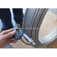 Tubulação espiralada de aço inoxidável S30400 1.4301