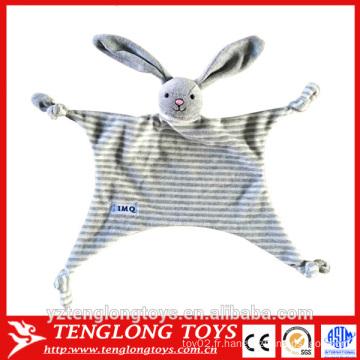 2016 nouveau produit jouets bébé bon marché, couverture de jouet pour lapin pour bébé
