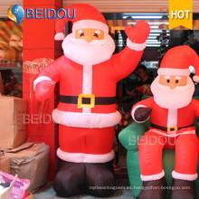 Decoración de Navidad Publicidad Santa Claus Giant Inflatable Christmas Santa