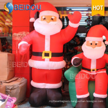 Christmas Decoration Advertising Santa Claus Giant Inflatable Christmas Santa