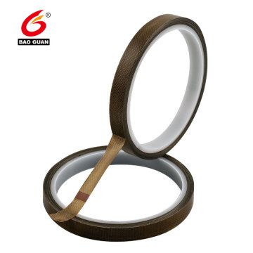 Single Sided adhesive PTFE Brown Heat Resistant Tape