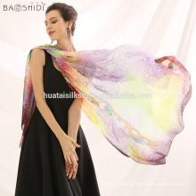 Bufanda de seda larga de la bufanda de las señoras de la manera de las mujeres nobles calientes de la manera