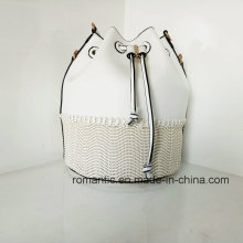Wholesale Manufacturer Fancy Lady Leather PU Woven Handbags (NMDK-032802)