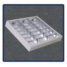 Four-Tubes, Recessed Mounted Grille Lamp T5/4X40W/1220*600
