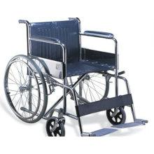 Cadeira de Rodas Manual de Aço, Cadeira Muti-Funcional e Dobrável
