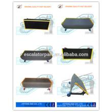 Pièces détachées Escalator JF Escalator Sliver Steps 800mm China Made Escalator Steps