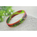 Promosi Embossed Printed Silicone Wristbands