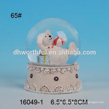 Lovely bear shaped resin water polo wholesale