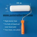 "9""/ 230mm espuma (esponja) rolo de pintura para tinta a óleo ou tinta de água"