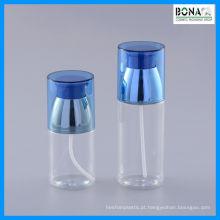 Frasco cosmético da garrafa do animal de estimação 100ml com bomba da loção
