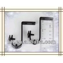 Ceiling Brackets for 3/4 inch Rod - Black