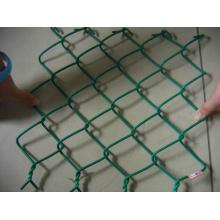 Painéis de vedação de elo de corrente de instalação de PVC com fio e fácil instalação