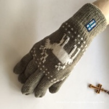 Factory Majored Make Acrylic Knitted Glove