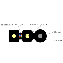 Self-Supporting Bow-Type cabo de fibra óptica de queda