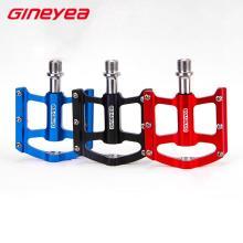 Plataforma de bicicleta barata Pedal Aluminio colorido Gineyea K-325
