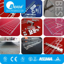 10 years warranties Steel Galvanized Wire Mesh Cable Tray Weight