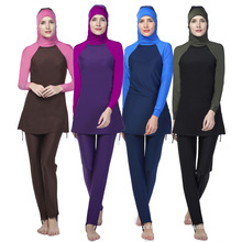 Quality assurance muslim swimwear women swimsuit islamic clothing
