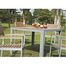 Holz Gartenmöbel nachgeahmt 5pc ESS-Set