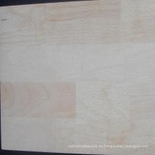 Tablero común del dedo de madera de haya