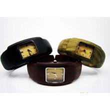 Hlw107 Soem-Männer und Frauen hölzerne Uhr-Bambusuhr-Qualitäts-Armbanduhr