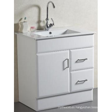 Toalla de baño sólida montada suelo sanitario nuevo del diseño con el lavabo (AB-75)