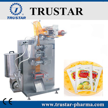 Vertical paste packing machine with servo motor