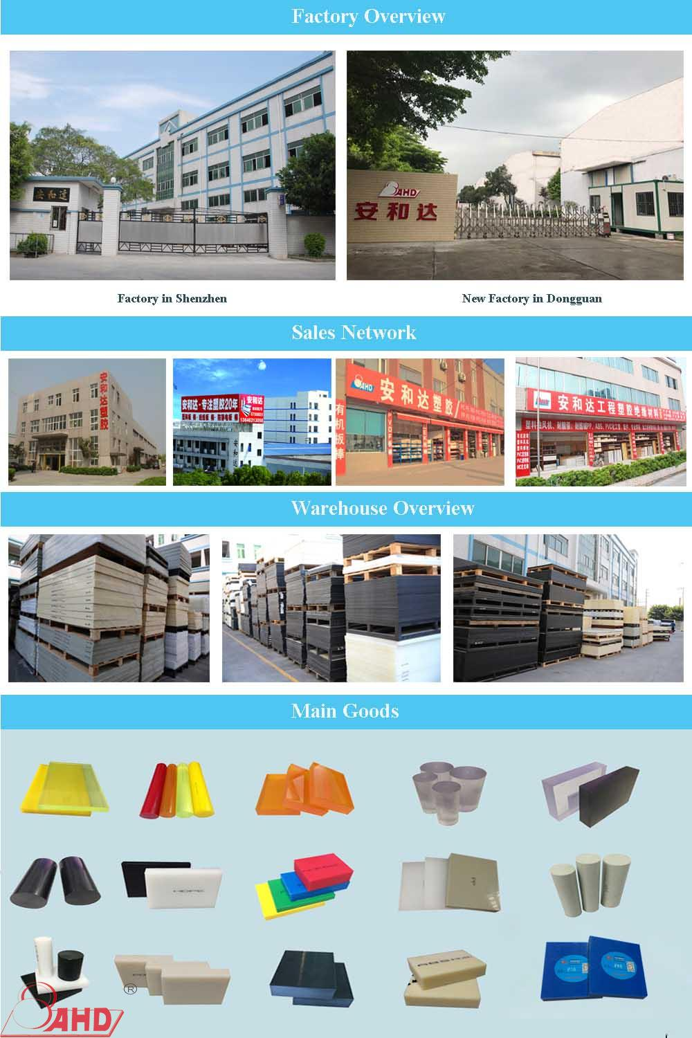 Hdpe Plastic Sheets factory