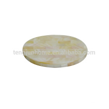 mother of pearl shell OEM coasters