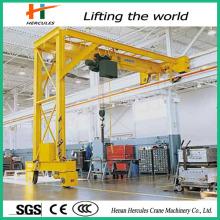 Light Duty Semi-Grantry Crane for Workshop Usage