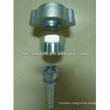 boss ground joint couplings-wing nut