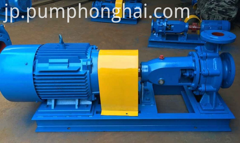 Single Stage Turbine Water Delivery Pump 1